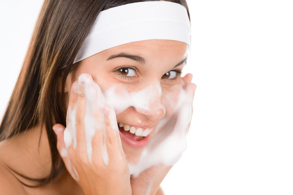 شستشو پوست