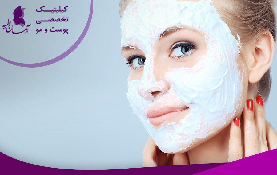 جوانسازی پوست با ماسک