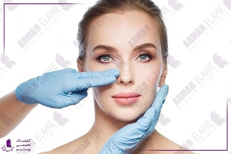 رفع کبودی زیر چشم بعد عمل بینی