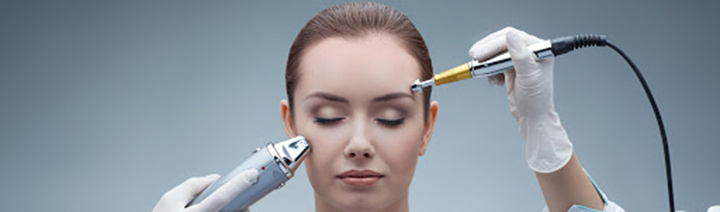 درمان و رفع جای جوش صورت با لیزر