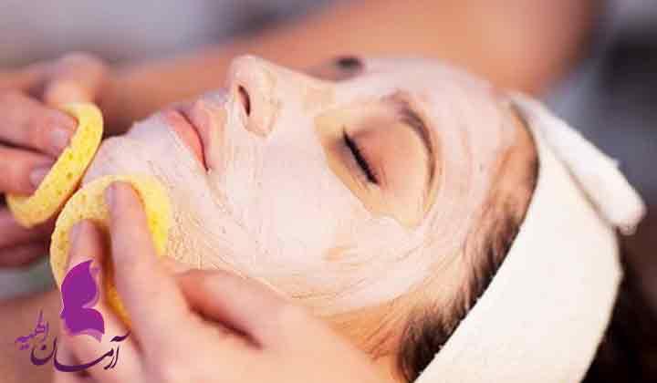 درمان خانگی زیبایی پوست صورت