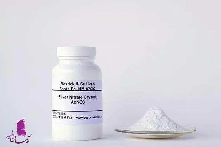 داروهای پوستی نقره نیترات