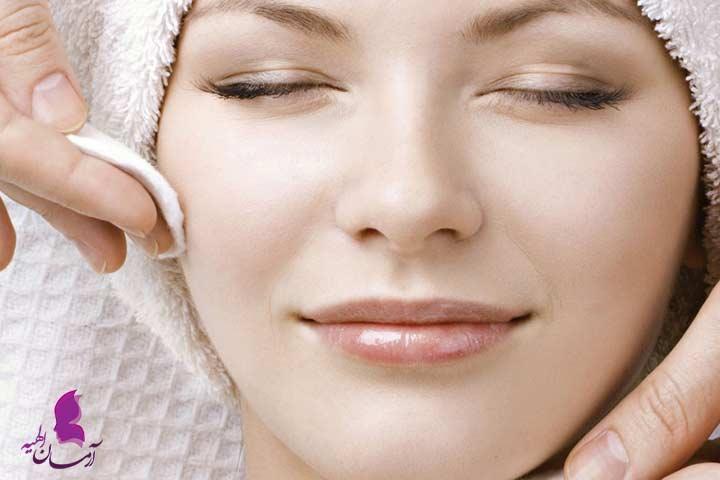 درمان های خانگی زیبایی صورت