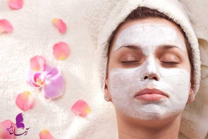 ماسک صورت برای درمان خانگی زیبایی صورت: